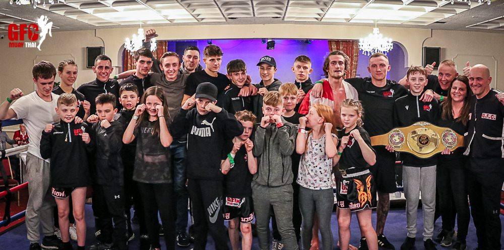 GFC Team at our Fight Show November 2019